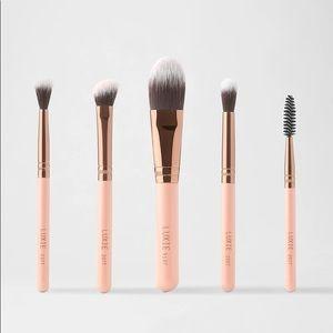 NEW Luxie Travel Essentials 5 brush set